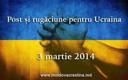 Post și rugăăciune pentru Ukraina (1)