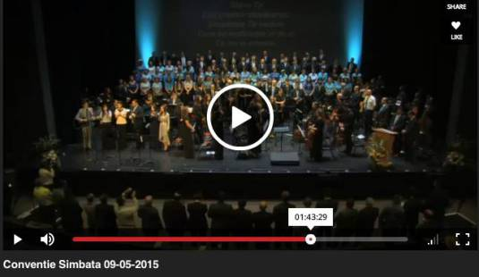 Cea de-a 103-a Conventie a Bisericilor Baptiste SUA si Canada 2015 Los Angeles