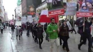 Protest Oslo, video by Mihai Dragoman