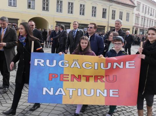 Rugaciune la Sibiu
