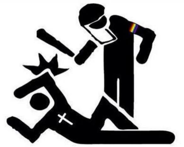 gay-protest-christian-persecution